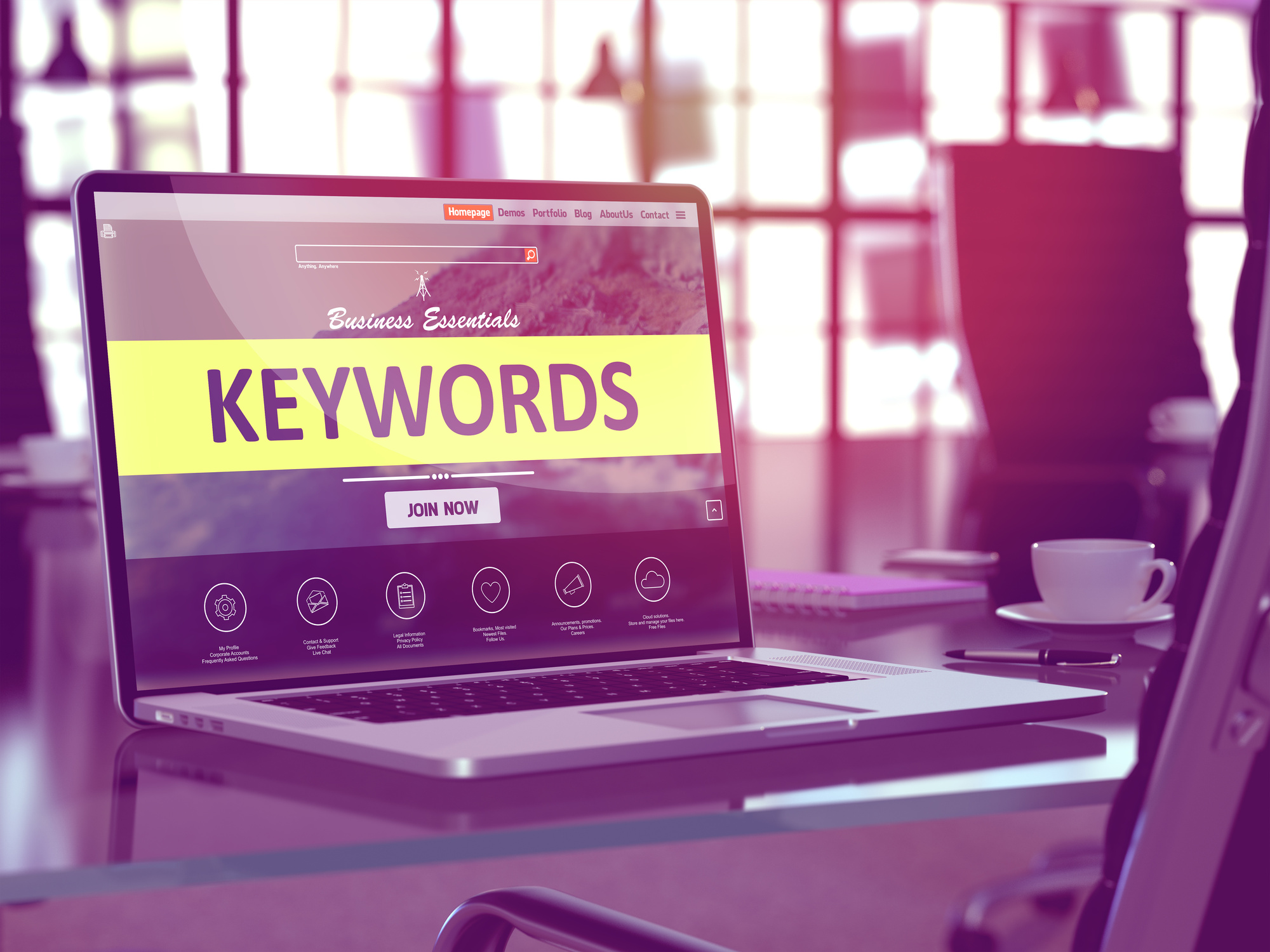 how to use keywords for SEO