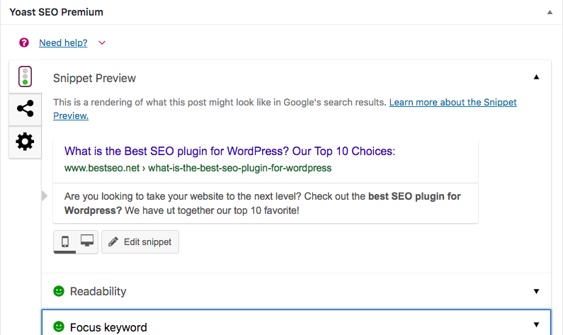 best SEO plugin for wordpress module