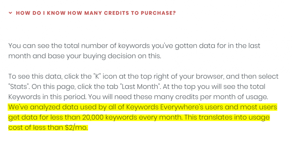 keyword research tool usage