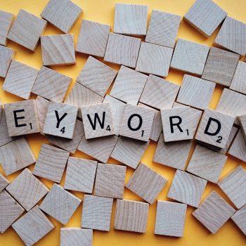 brown keywords letters