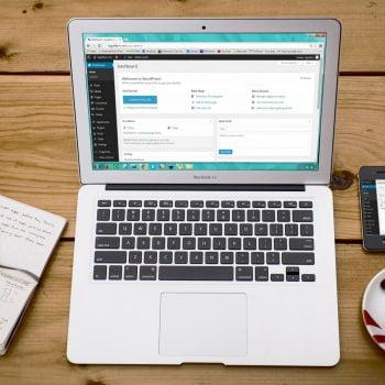 content blogging on wordpress
